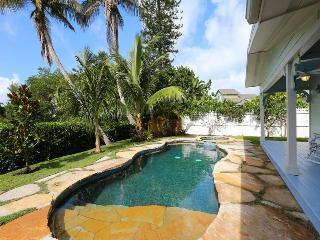 Pool-spa-dock-sea--steps to sugar-white-sand. GEM! - Anna Maria vacation rentals