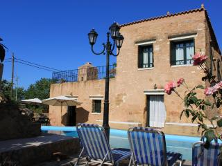 Beautiful luxurious stone Villa Laina private pool - Chania vacation rentals