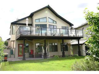 Entrance to Garden Suite is below the balcony - Cochrane 2 bedroom Garden Suite (part of home) - Cochrane - rentals