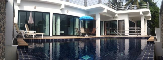 Villa from the end of the pool! - Koh samui modern villa - Koh Samui - rentals