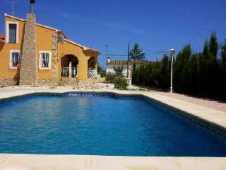 Costa Blanca Villa. 3 Bed. Private Pool, A/C, WiFi - Xalo vacation rentals