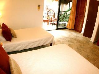 Playa del Carmen Hotel Room at the BRIC Hotel - 1 Double & 1 Individual - Playa del Carmen vacation rentals