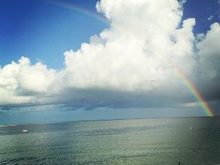 wake up to a rainbow - *SERENE BEACH* Condo..DIRECT Gulf Front is YOURS!! Check my Reviews... great ! - Treasure Island - rentals