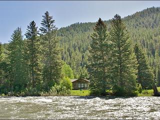 Located Directly on the Gallatin River - Cozy & Comfortable, Great Value (1052) - Big Sky vacation rentals