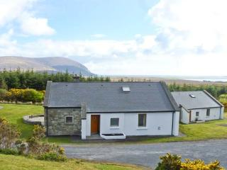 SLIEVEMORE COTTAGE, single storey pet friendly cottage with sea views, open fire, garden Achill Island Ref 12474 - Achill Island vacation rentals
