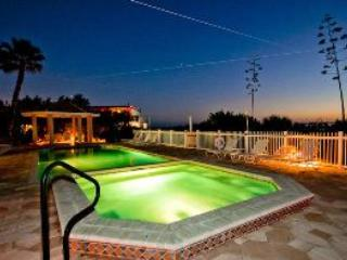 Pool and spa at sunset - L'Plage 6430 - Holmes Beach - rentals