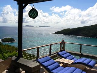 3 bedroom villa, 3 bathroom, expansive, wonderful sea views, plunge pool, tropical gardens (v) - Saint Vincent and the Grenadines vacation rentals