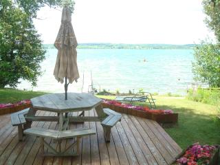 Luxury Lake Leelanau Lakefront Home sleeps 12 - Northwest Michigan vacation rentals