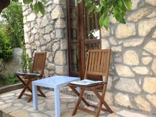 Panagia stone mezzonete with amazing view - Skála Rakhníou vacation rentals