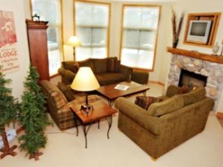 Living Room - Crystal Forest Condos - 60 - Sun Peaks - rentals