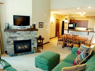 Fireplace - Stone's Throw Condos - 56 - Sun Peaks - rentals