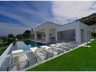 Modern designer villa with pool and great lakeview - Stresa vacation rentals