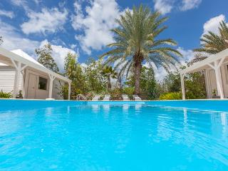 Gorgeous 3 bedroom villa surrounded by tropical gardens. - Terres Basses vacation rentals