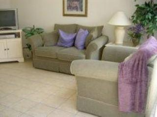 Living Area - WP3T2334SPD 3 BR Luxury Town Home in Gated Community with WIFI - Orlando - rentals