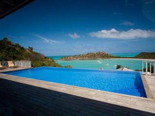 Villa Capri at Galley Bay Heights, Antigua - Ocean View, Pool, Immense Tropical Gardens - Five Islands Village vacation rentals