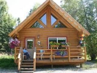 Front of a grande cabin - Hatcher Pass Bed & Breakfast Cabins - Palmer - rentals
