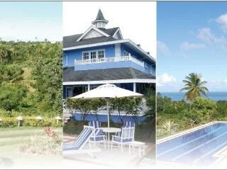 Luxury Caribbean villa with magnificent pool - Mount Irvine vacation rentals