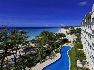 Sapphire Beach 407 at Dover Beach, Barbados - Beachfront, Gated Community, Communal Pool - Bottom Bay vacation rentals