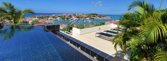 Prestige at Gustavia, St. Barth - Panoramic View Of Ocean, Walking Distance To Beach, Restaurants and Shops - Image 1 - Gustavia - rentals