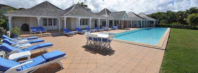 Oui at Petit Cul De Sac, St. Barth - Ocean and Sunset View, Tropical Gardens, Large Pool - Image 1 - Petit Cul de Sac - rentals