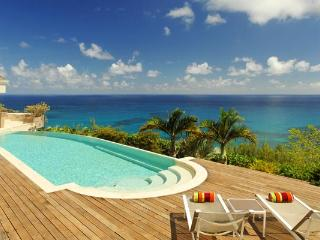 Wonderful retreat on the far side of the island with dramatic ocean views WV ACA - Saint Barthelemy vacation rentals