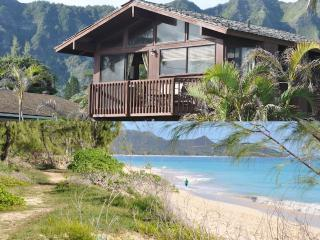 Ocean View Beach Cottage- Super Location & Price! - Waimanalo vacation rentals