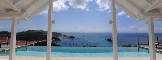 The View at Colombier, St. Barth - Ocean View, Amazing Sunset Views, Private, Chic and Modern - Image 1 - Anse des Flamands - rentals