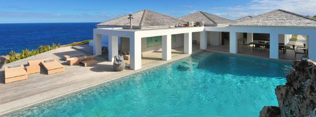 Casa Del Mar at Petit Cul de Sac, St. Barth - Ocean View, 2 Pools, Private - Image 1 - Petit Cul de Sac - rentals