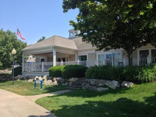 Luxury Home on the Marina w/ 66 ft Deck - Manistee vacation rentals