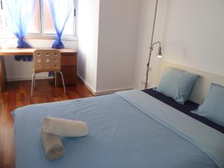 Double Room, PRIVATE Bathroom Las Ramblas AC, Wifi - Barcelona vacation rentals