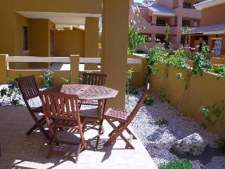Ground Floor - Large Patio - Communal Pool - Short Walk to Beach - 1307 - Mar de Cristal vacation rentals