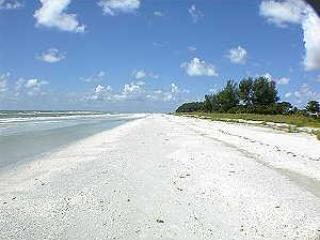 Beach in front of our Condo - 3BR/2BA Luxury Condo - Direct Gulf Front, Sanibel - Sanibel Island - rentals