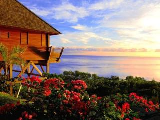 Villas Noa Noa -jacuzzi & panoramic sea view - TIS - Papetoai vacation rentals