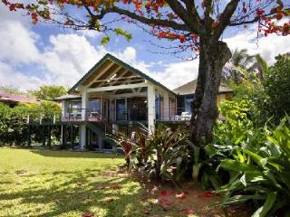 Lovely Beachfront Makana Akua Villa near Tunnels Beach and Tunnels Reef - Haena vacation rentals