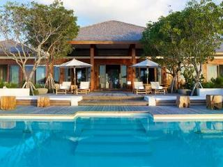 Secluded oasis with pool and private beach, Tamarind Estate with Parrot Cay resort amenities - Parrot Cay vacation rentals