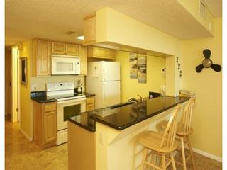 Gorgeous Renovated Kitchen (Granite Counter, New Cabinets, New Appliances) - Bright, Spacious and Renovated Ground Floor Condo - Cocoa Beach - rentals