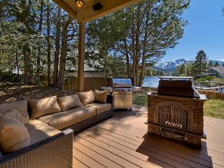 Waterfront home with private boat dock, hot tub and mountain views - Luxury Tahoe Keys Home - South Lake Tahoe vacation rentals