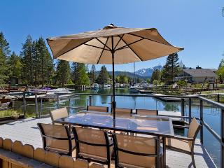 Waterfront home with hot tub and mountain views - Luxury Tahoe Keys Home - South Lake Tahoe vacation rentals