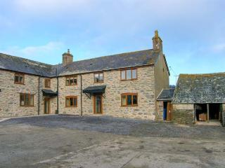TYDDYN, stone farmhouse, with woodburner, enclosed patio, parking, and games room, near Ruthin, Ref 21161 - Denbighshire vacation rentals