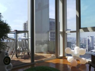 luxury 2 bedroom penthouse on Chao Phraya river - Bangkok vacation rentals