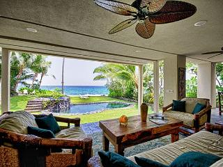 Deluxe Oceanfront 5 bedroom Estate with Pool & Spa, Paradise! - Kailua-Kona vacation rentals