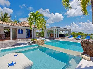 St. Martin Villa 315 Enjoy Gazing Out Into The Beautiful Blue Ocean And Saba From The Huge Wooden Deck. - Terres Basses vacation rentals