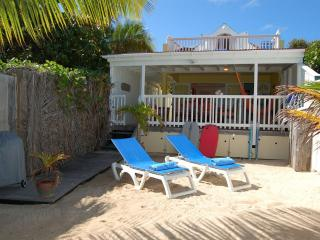 Face A La Mer at Grand Cul de Sac, St. Barth - On The Beach, Perfect for Families or Couples - Grand Cul-de-Sac vacation rentals