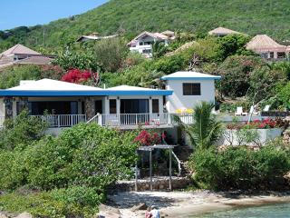 Beach Front Private Villa 3/2 with Pool and Dock - Virgin Gorda vacation rentals