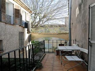 Balcony - Centre of Old Town Antibes 1 Bedroom Apartmen - Antibes - rentals