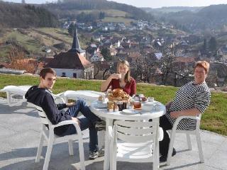 LLAG Luxury Vacation Apartment in Flörsbachtal - 904 sqft, Blockhouse sauna, fireplace stove, Internet,… - Lohrhaupten vacation rentals