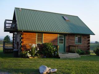2 bedroom Log cabins in Lexington VA, 2m from VHC, Rockbridge Co. Natural Bridge - Lexington vacation rentals