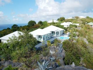 Byzance at Colombier, St. Barth - Ocean View, Private, Perfect for 2 Couples - Colombier vacation rentals