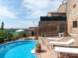 3BDR cosy house ,pool,WiFi,AC in Siena countryside - Siena vacation rentals