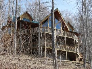 Luxury Log Cabin!!!Views, Hot Tub, 5BR/3 1/2 BR. - Burnsville vacation rentals